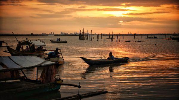 Binangonan sunset thumbnail