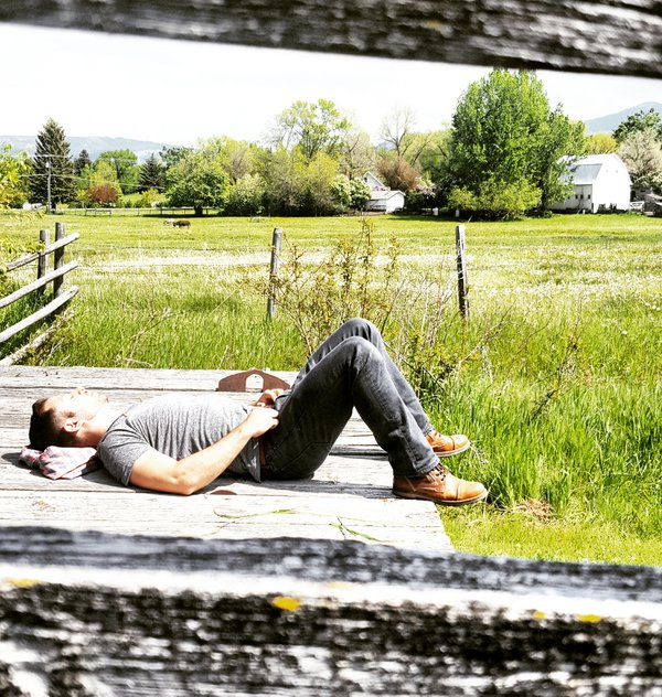 Capturing a nap in Bozeman, Montana thumbnail