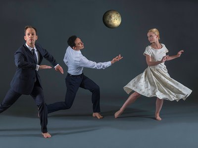 """The Dana Tai Soon Burgess Dance Company premiers its newest work, """"We choose to go to the moon,"""" at the Kennedy Center on September 19 and 20, 2015."""