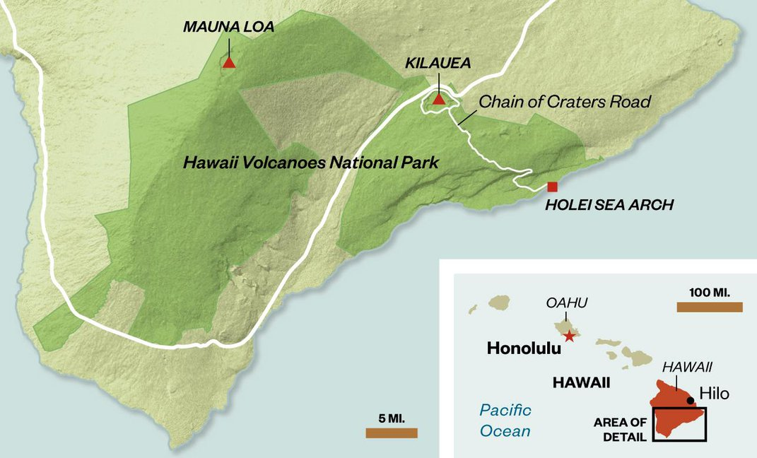 Hawaii's Must-See Lava Flows Are Home to New, Startling Ecosystems