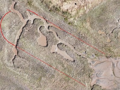 Last October, archaeologists discovered the mud dock where the HMS Beagle was dismantled by using specialized drone photography
