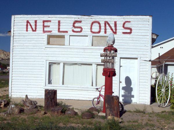 Too pooped to pump. Old gas station in Kanab, Utah. thumbnail