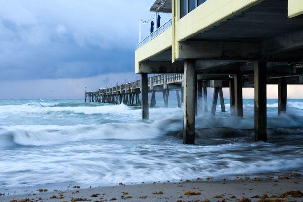 Dania Pier Sunrise thumbnail