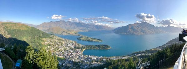 Lake Wakatipu from the Top of the World thumbnail