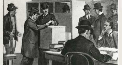 Murray Hall at the ballot box