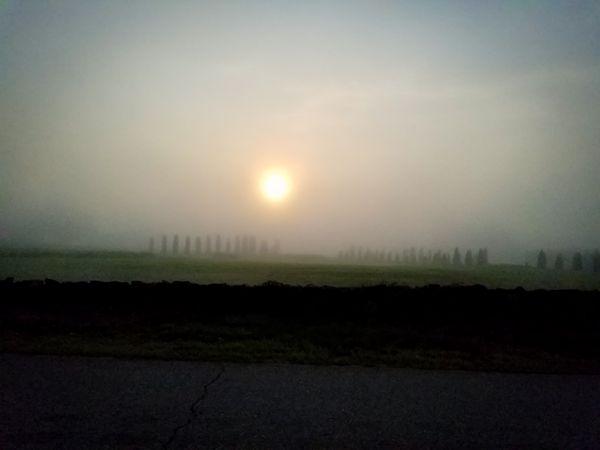 Sunrise over Barre Cross thumbnail