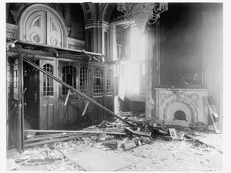 Bomb in U.S. Capitol 1915