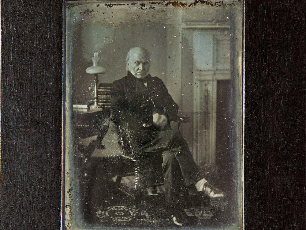 John Quincy Adams / Philip Haas / 1843
