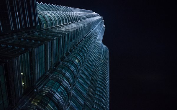 Petronas Towers at night thumbnail