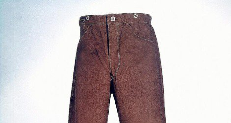 """An early pair of Levi Strauss & Co.'s """"Duck Trousers"""""""