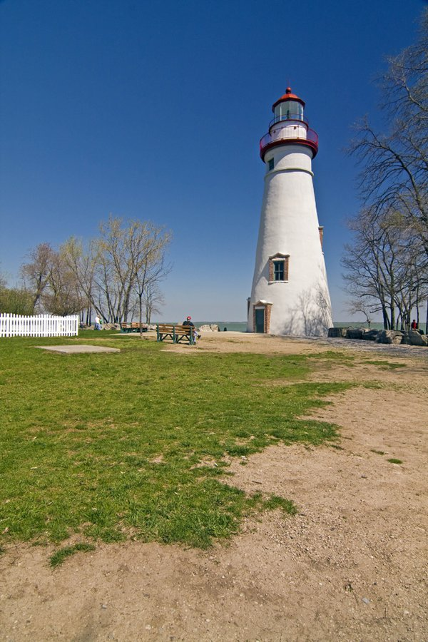 Marblehead Lighthouse on Lake Erie thumbnail