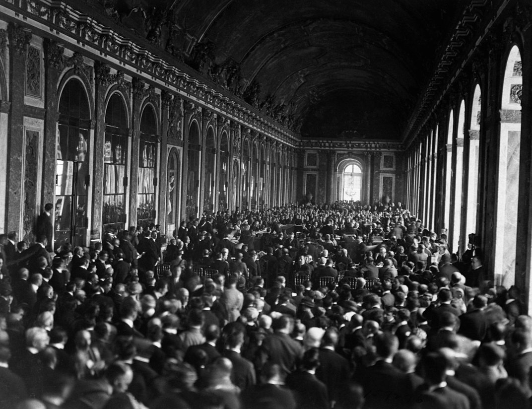 Europe Reacts to the Treaty of Versailles, in Photos