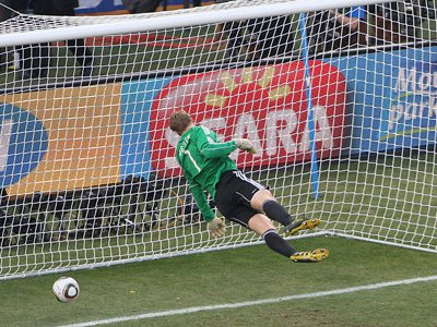One goal at the 2010 World Cup reignited a debate that sparked the future introduction of goal line technology.