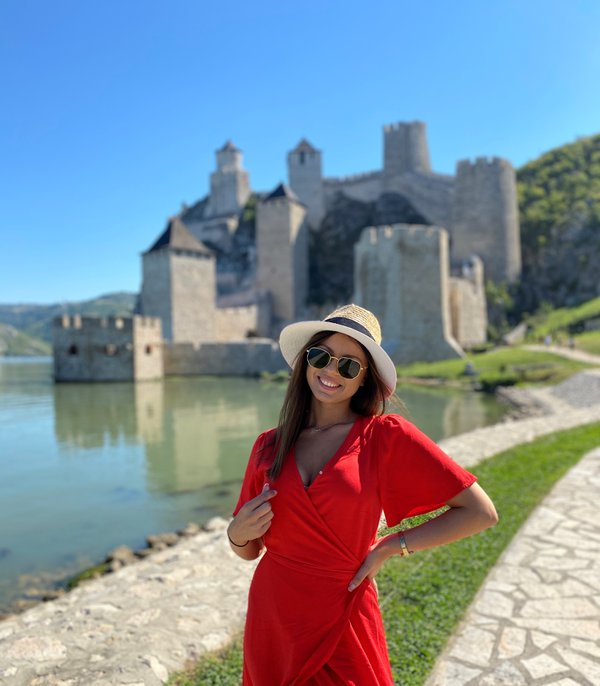 Castle on a river thumbnail