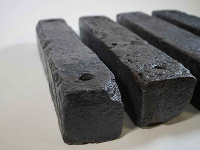 Ballast from the first historically documented ship carrying enslaved Africans that wrecked off the coast of Cape Town, South Africa in December 1794.