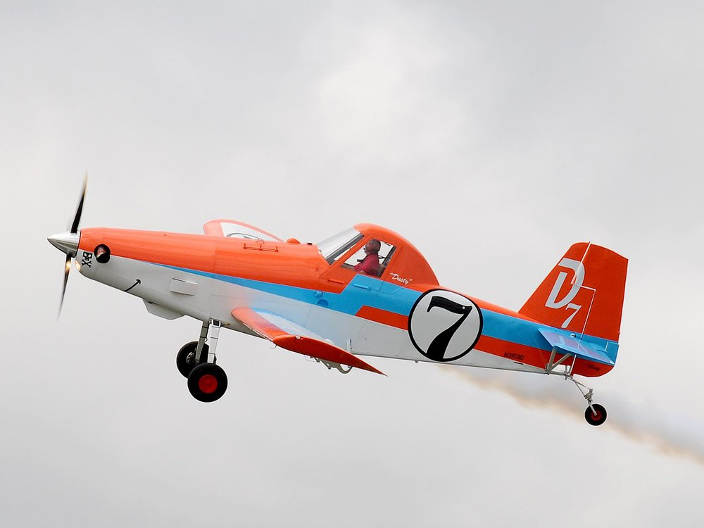 Air Tractor AT-301/400A  in flight