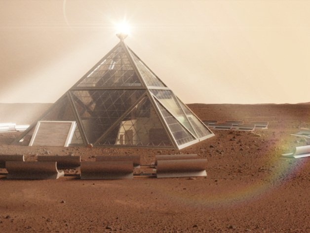 The Mars Pyramid earned second place. Photo: Valcrow, Thingverse