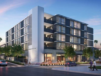 In Los Angeles, the architecture firm KTGY is repurposing shipping containers to build a transitional apartment complex for the homeless.