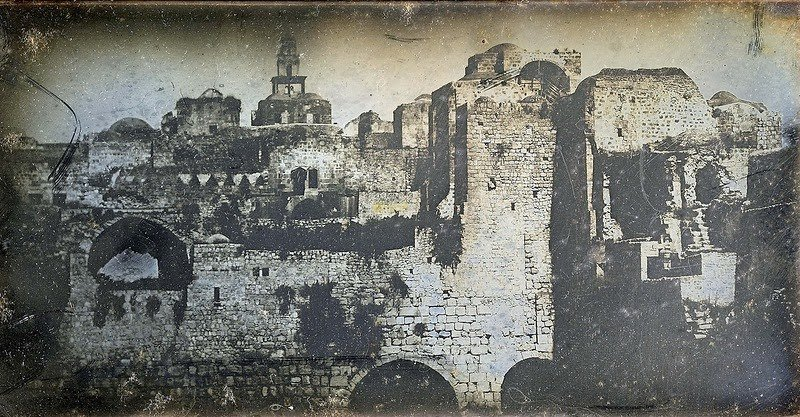 See the First Photographs Ever Taken of Jerusalem