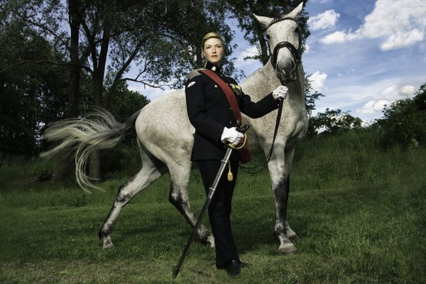 The female cavalry officer thumbnail