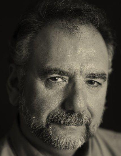 Black and white photo of Al Rendon