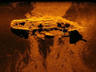 Shipwrecks discovered off the coast of Western Australia.