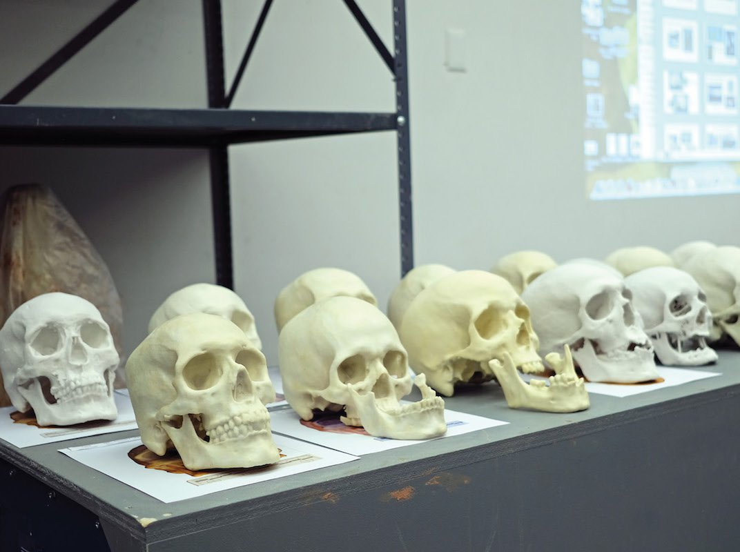 To Help Identify Migrants Who Died Along Border, Art Class Reconstructs Their Faces