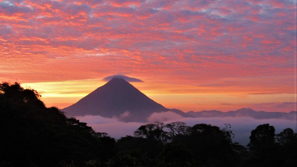 Sunrise at Arenal thumbnail