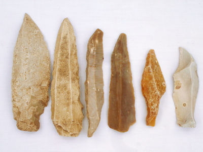 Archaic Age people—like the ones who made these blades—arrived in the Caribbean around 6,000 years ago.