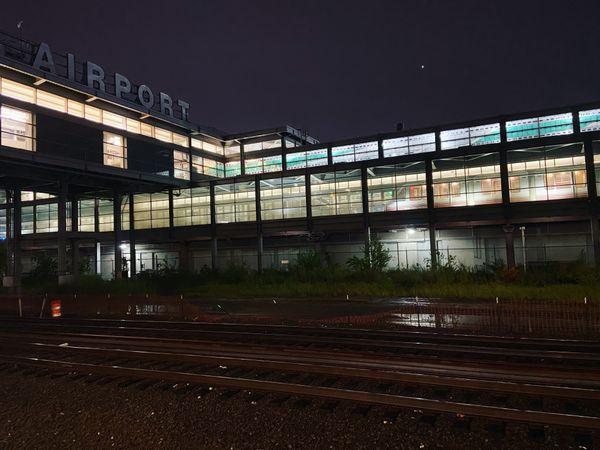 Night at Newark Airport thumbnail