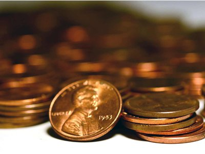Not only does it cost the Mint more to make a penny than it's worth, but making the penny has an environmental cost, too.