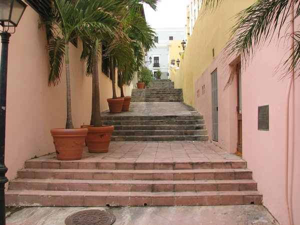 Steps to a pastel world in San Juan, Puerto Rico thumbnail