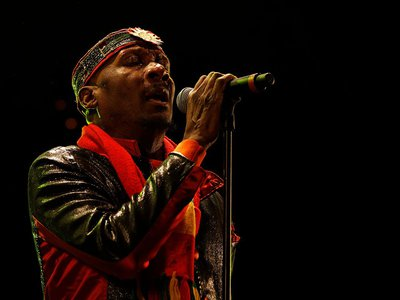 The great James Chambers aka Jimmy Cliff performing in 2012.
