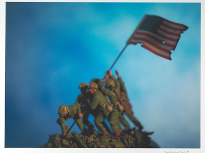 """Iwo Jima by David Levinthal, from the series """"History,"""" 2013"""