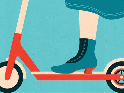 E-scooters swarm city streets, but their advent is far from the first personal mobility revolution America has seen.