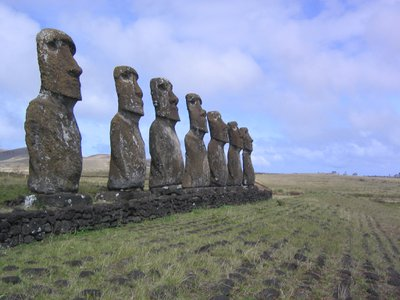 Easter Island's famed statues could be remnants of a populous civilization