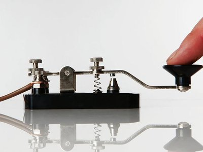 There's still plenty of reason to know how to use this Morse telegraph key.
