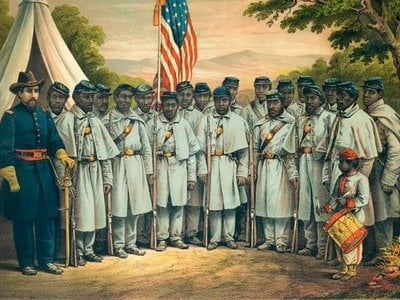 Many contemporaries argued that Black men had more than earned the right to vote through their military service in the Civil War.