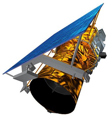 The GeoEye-1 satellite
