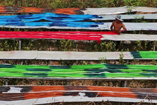 Textile rainbow thumbnail