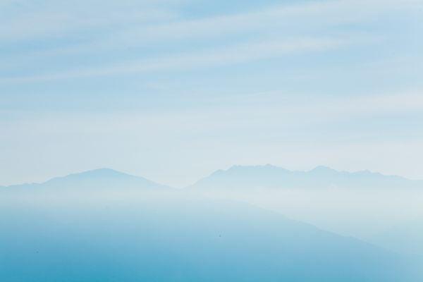 Hazy mountains of Shikoku thumbnail