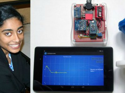 Maya Varma won $150,000 as one of the first place winners in the prestigious Intel Science Talent Search competition.