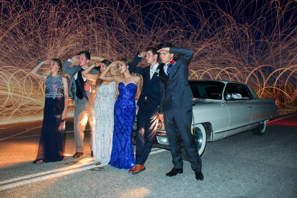 Prom in the 62 Cadillac thumbnail