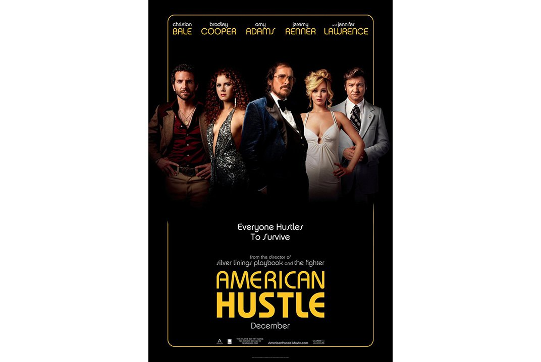 """Directed by David O. Russell, """"American Hustle"""" received critical acclaim for its fast-talking rogues and precipitous plot turns.   """"American Hustle,"""" 2013"""