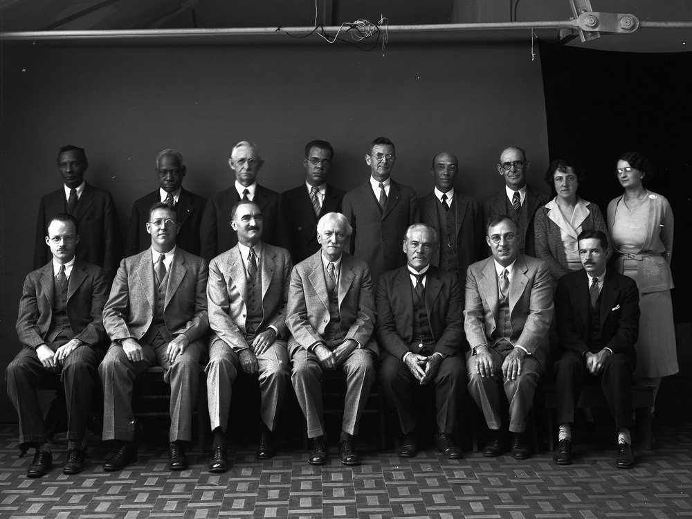 Department of Anthropology Staff, 1931