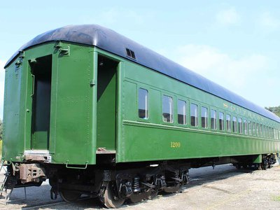 """The restored Pullman Palace passenger car, which ran along the Southern Railway route during the """"Jim Crow"""" era of the 20th century, serves as a signature artifact in the new museum."""