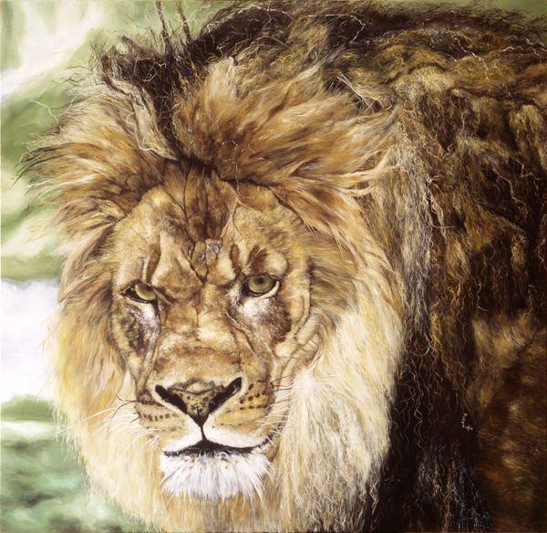 """""""Iron Lion Zion"""" (oil) thumbnail"""