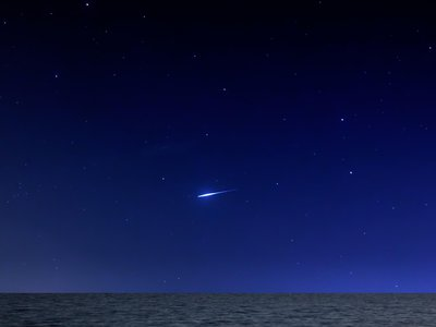 """The Quadrantids meteor shower, though fleeting, is famous for its especially bright, colorful """"fireballs"""""""