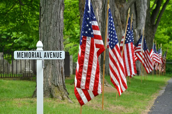 Memorial Day in Pittsford Cemetery thumbnail