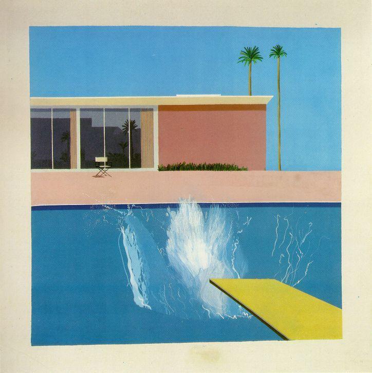 David Hockney's A Bigger Splash, 1967